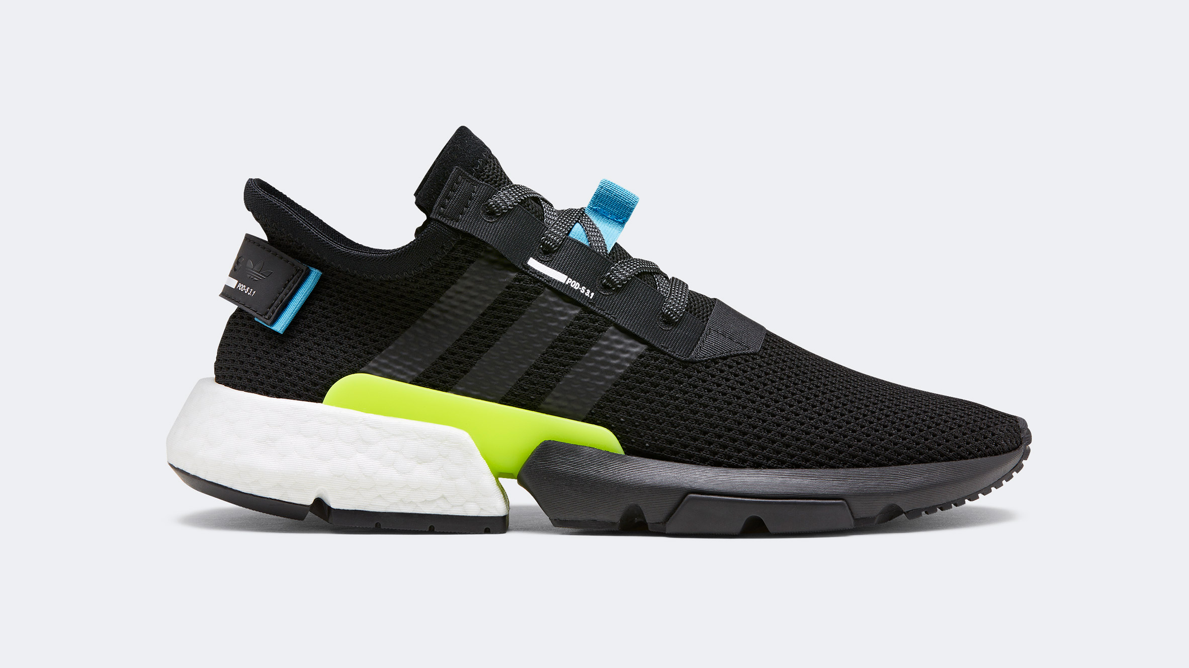 P.O.D.System shoe by adidas embraces a design from the 1990s