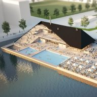 OOPEAA's floating sea pools offer new swimming facilities to waterside cities