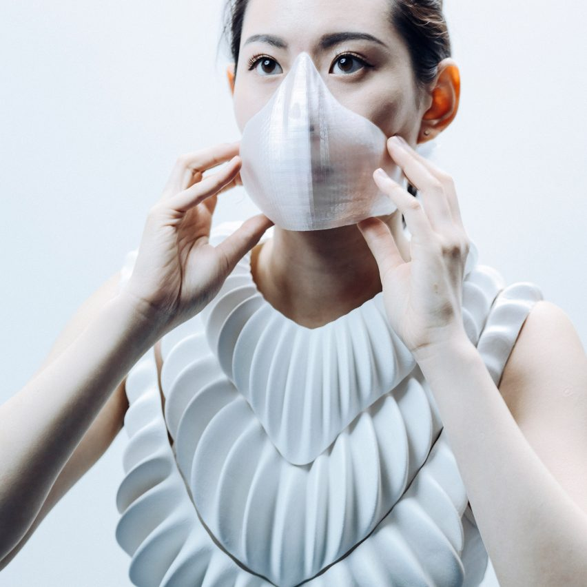 Jun Kamei designs amphibious garment to give humans gills