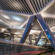 Amsterdam opens new metro line with seven stations by Benthem Crouwel Architects