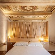 Archiplan celebrates painted frescos in subtle revamp of 15th-century Italian home