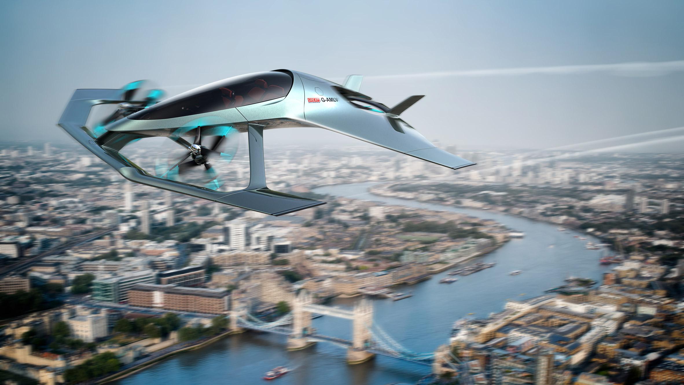 d6bb3f055de5 Aston Martin designs Volante Vision concept aircraft