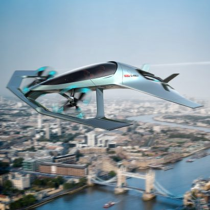 Aston Martin takes to the skies with first aircraft concept