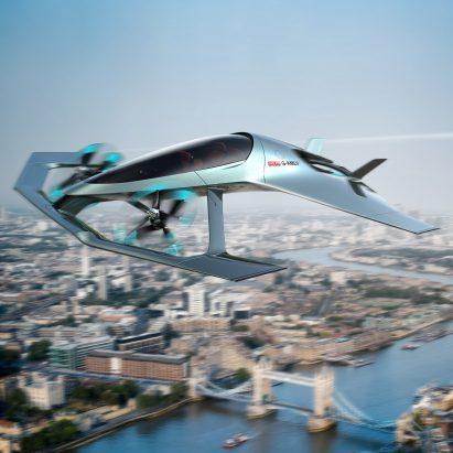 Aston Martin sube a los cielos con el primer concepto de avión