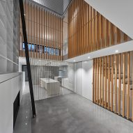 Atrium Townhome by Robitalle Curtis