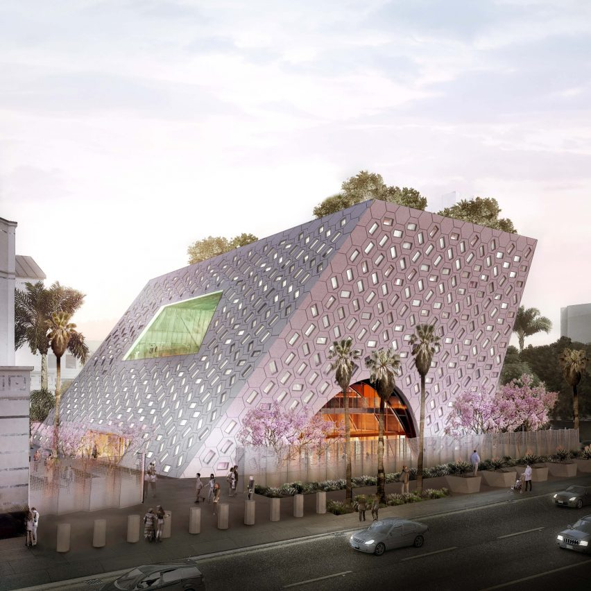 Audrey Irmas Pavilion by OMA, Los Angeles, USA