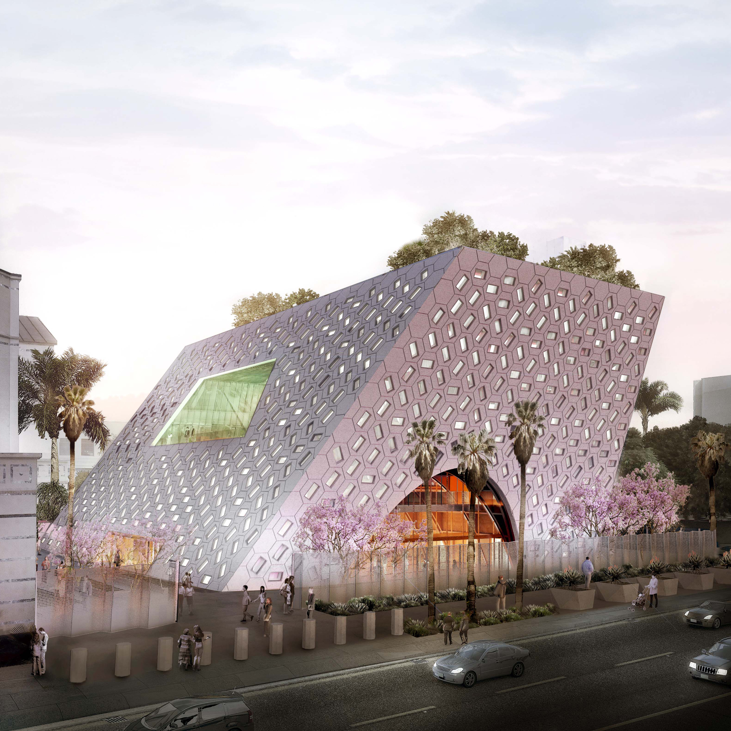 Audrey Irmas Pavilion by OMA, Los Angeles, USA