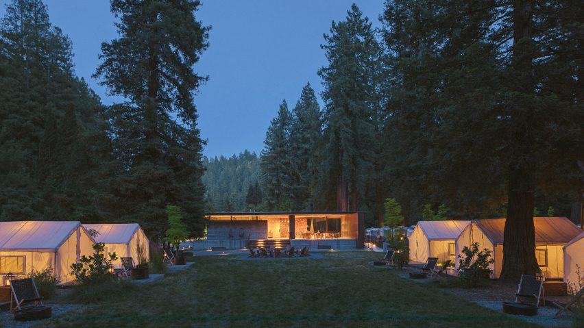 Anacapa Architecture creates AutoCamp glamping resort in northern California