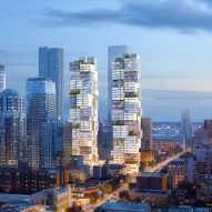 Ole Scheeren designs twin Vancouver skyscrapers to be vertical villages