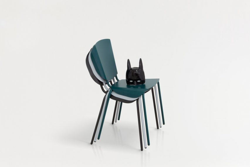 Batman serves as inspiration for Constance Guisset's latest chair
