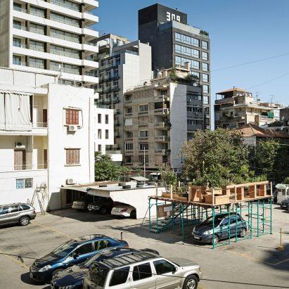 Los diseñadores de Beirut defienden nuevos usos para los espacios públicos que se pasan por alto en la ciudad