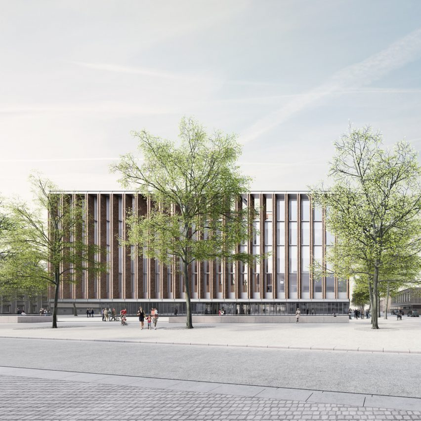 Eduardo Souto de Moura and Meta design Bruges exhibition hall