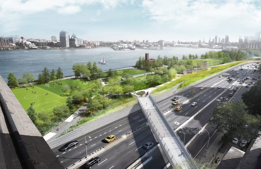 BIG U flood defences for Manhattan
