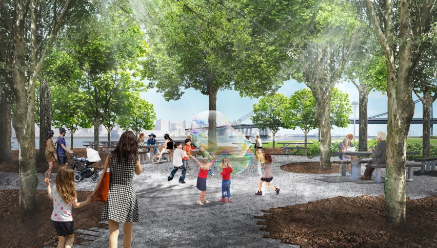BIG U flood defences for Manhattan