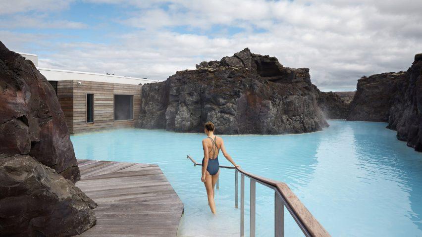 Отель в Голубой Лагуне Исландии