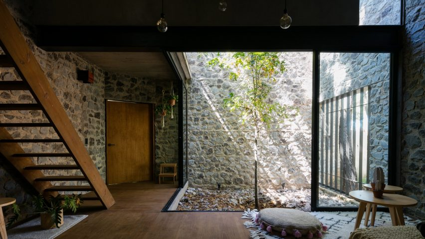 Rural home in Jalisco by AM30 and Stephane Arriola clusters around a courtyard
