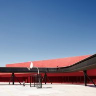 Smiljan Radić works on fire station and playground for Chilean civic hub