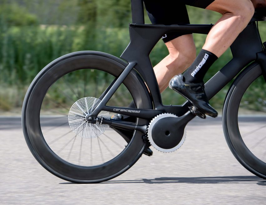 CeramicSpeed's ultra-efficient Driven bicycle works without