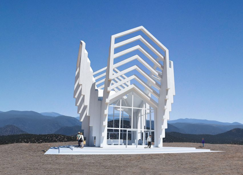 michael jantzen s imaginary chapel for new mexico is open to all