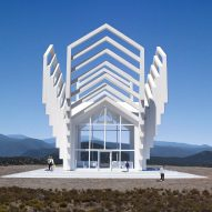 Michael Jantzen's imaginary Chapel For New Mexico is open to all religions