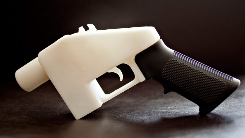 The Liberator 3D-printed gun from Defense Distributed