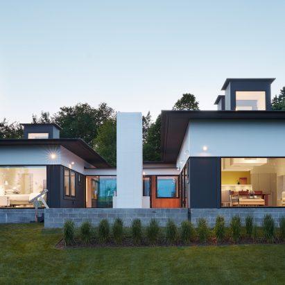 Cube Shaped Skylights Illuminate Deloia Residence By Salmela Architect