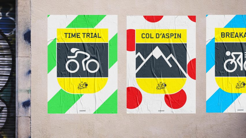 DixonBaxi creates branding for Eurosports' cycling coverage