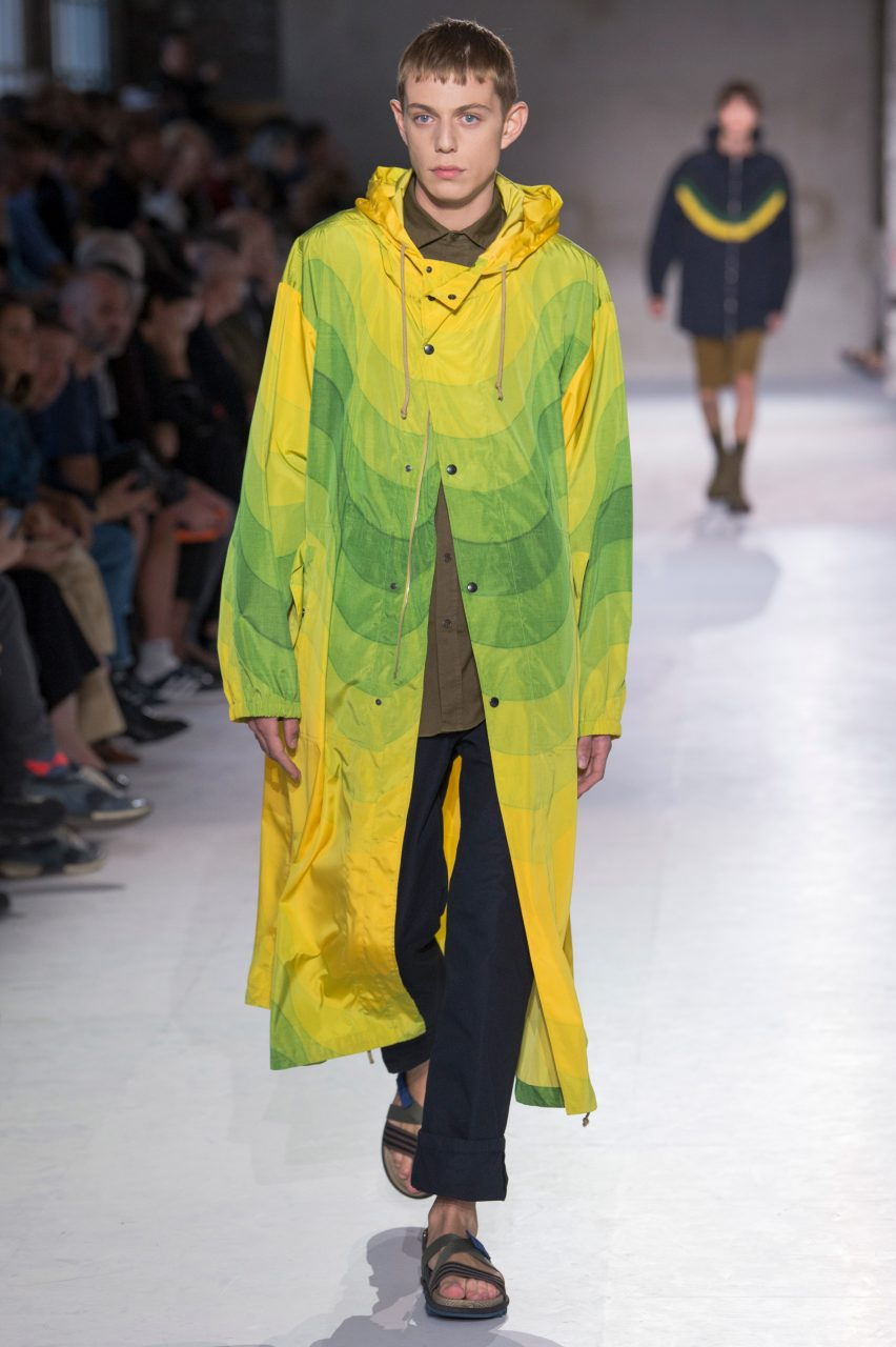 Dries Van Noten collaborates with Panton for colourful SS19 collection