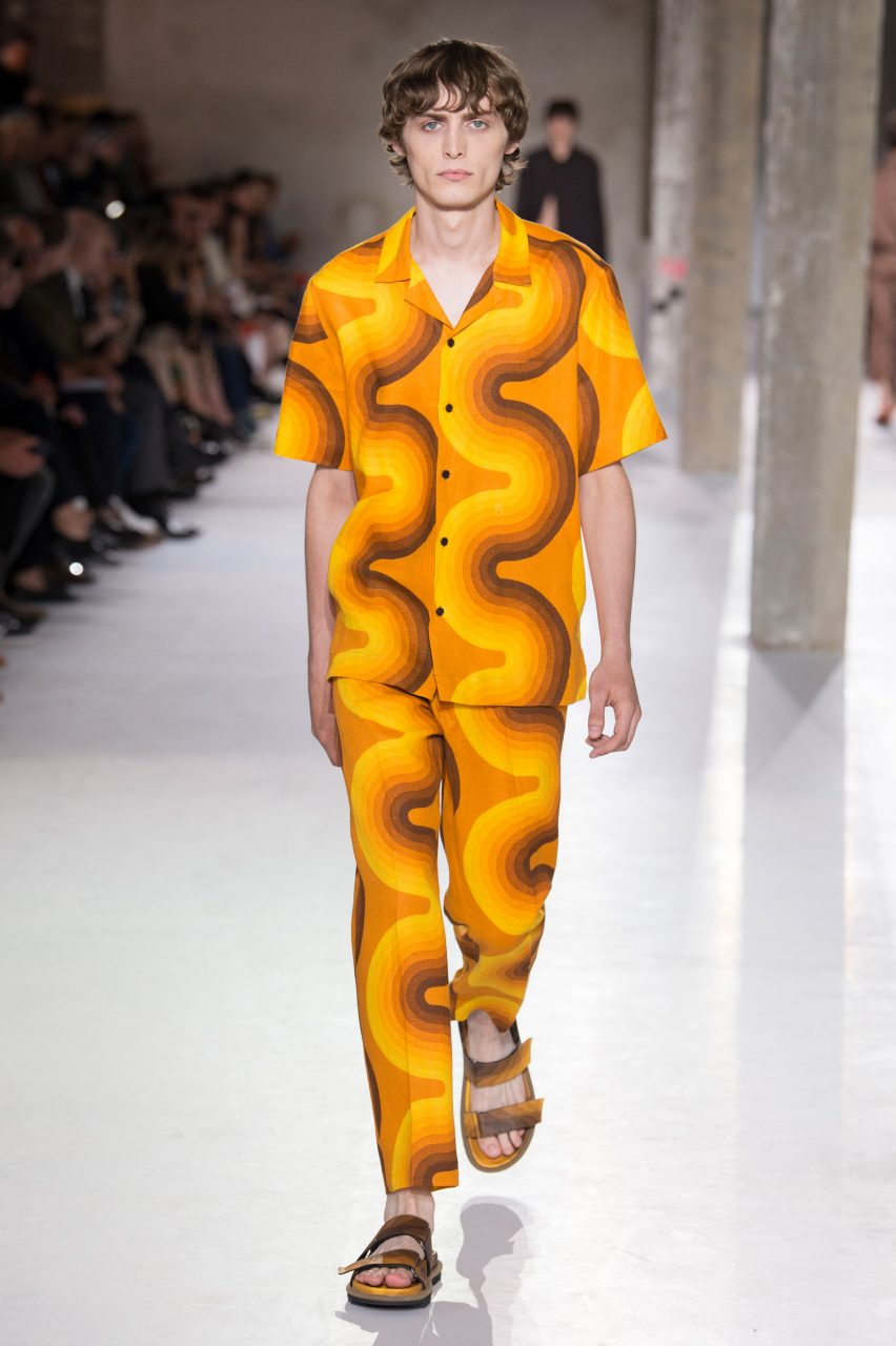 cc4d4a0a4d3a9 Dries Van Noten collaborates with Panton for colourful SS19 collection.