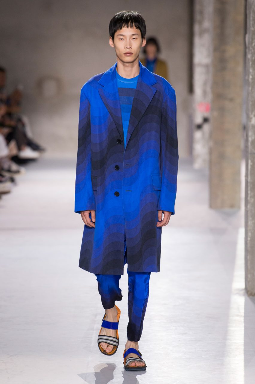 7af8385b3e6 Dries Van Noten collaborates with Panton for colourful SS19 collection.