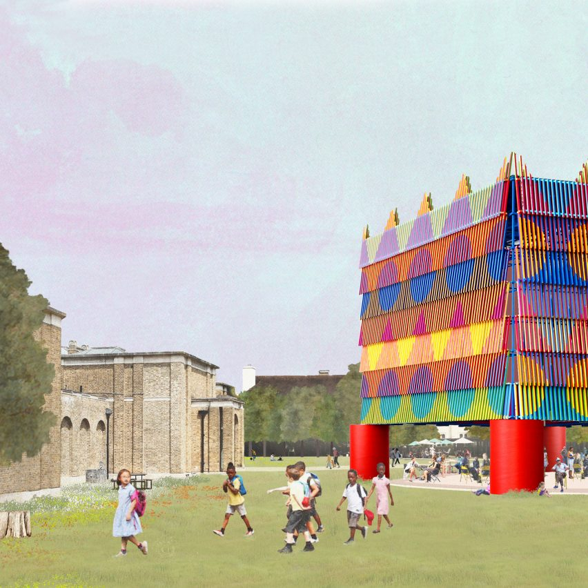 The Colour Palace by Pricegore and Yinka Ilori for London Festival of Architecture 2019