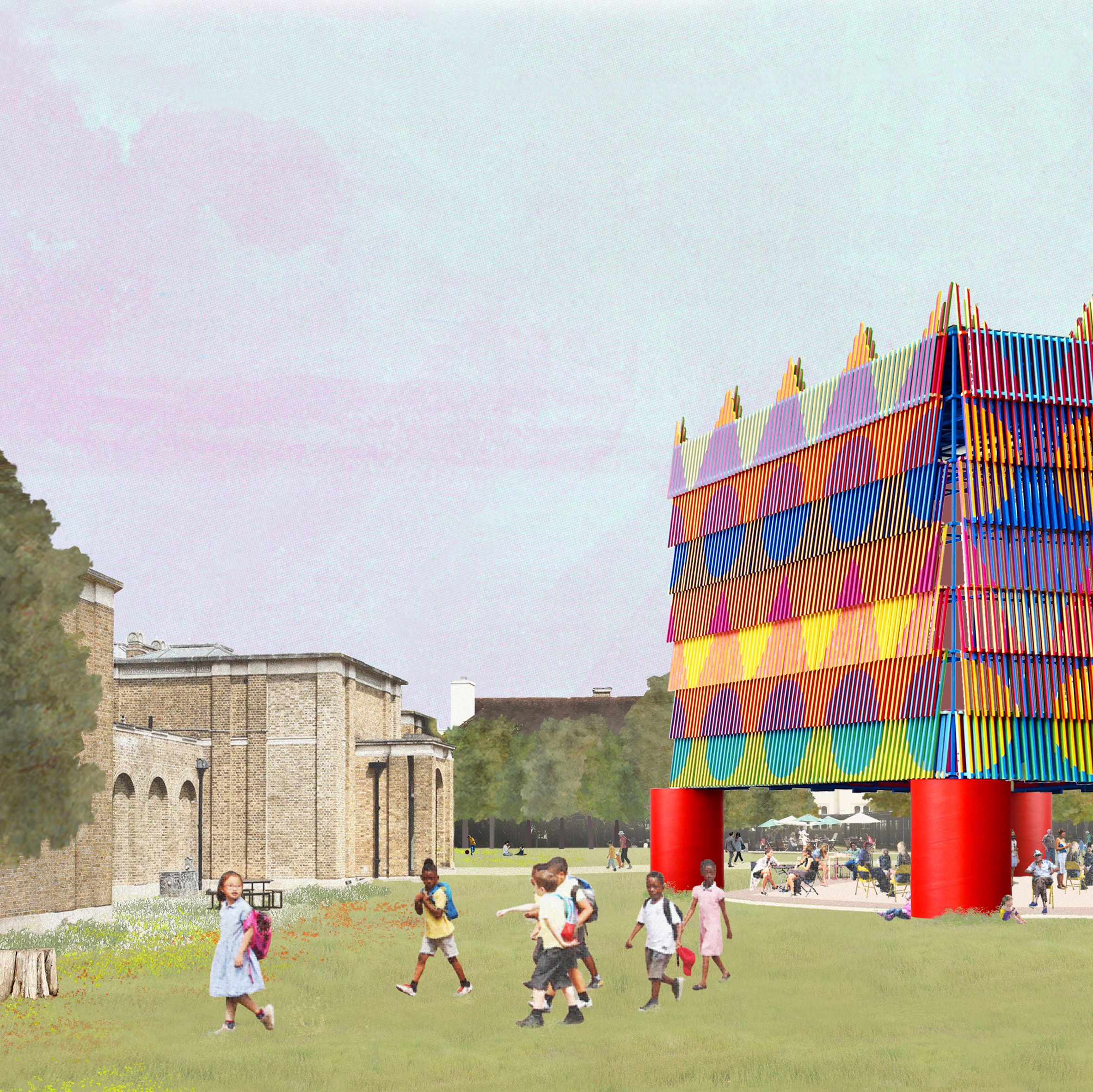 Dulwich Picture Gallery's 2019 pavilion will celebrate multicultural London