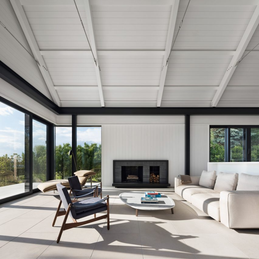 east lake house in montauk is designed to weather over time