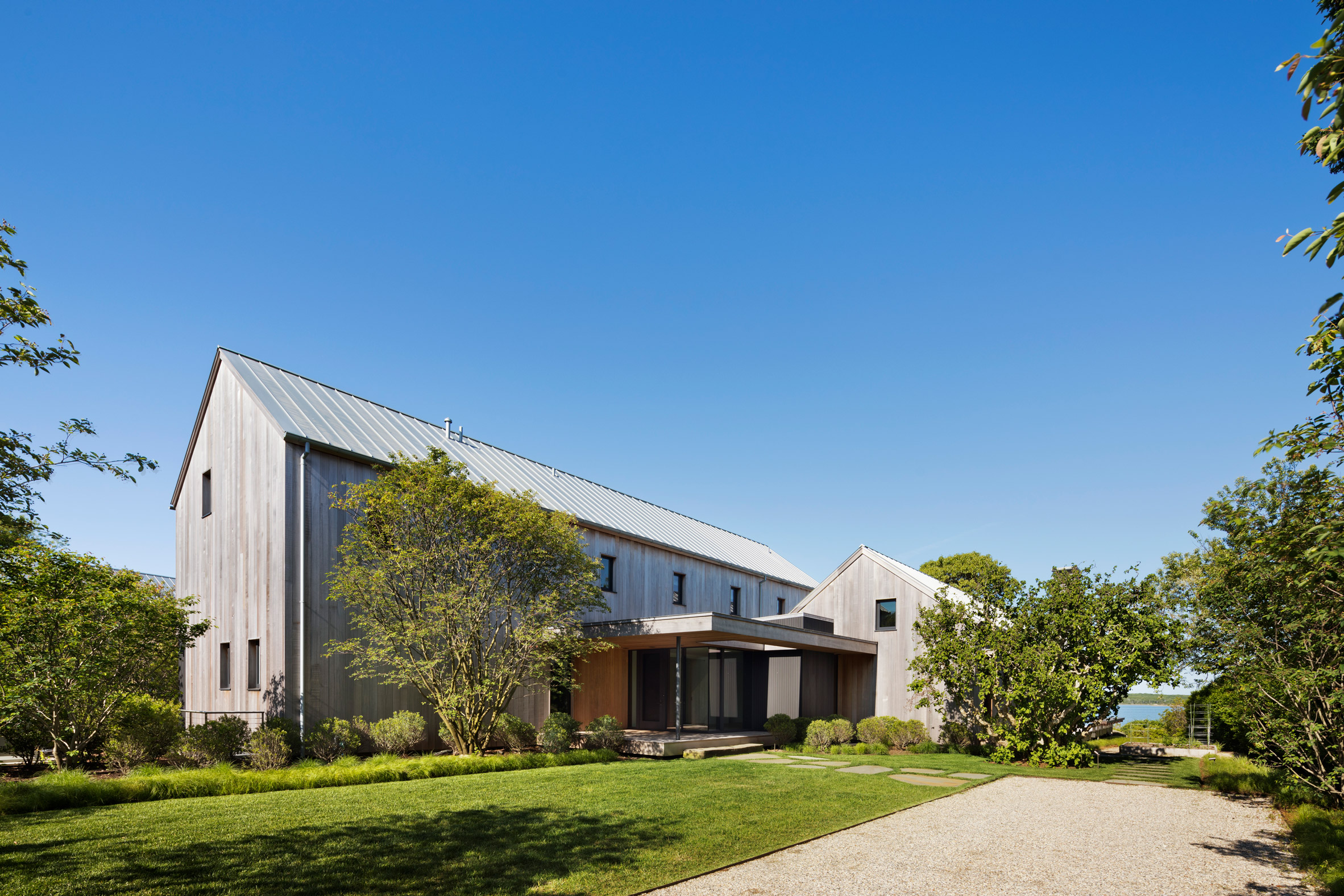 Robert Young's East Lake House in Montauk is designed to weather over time