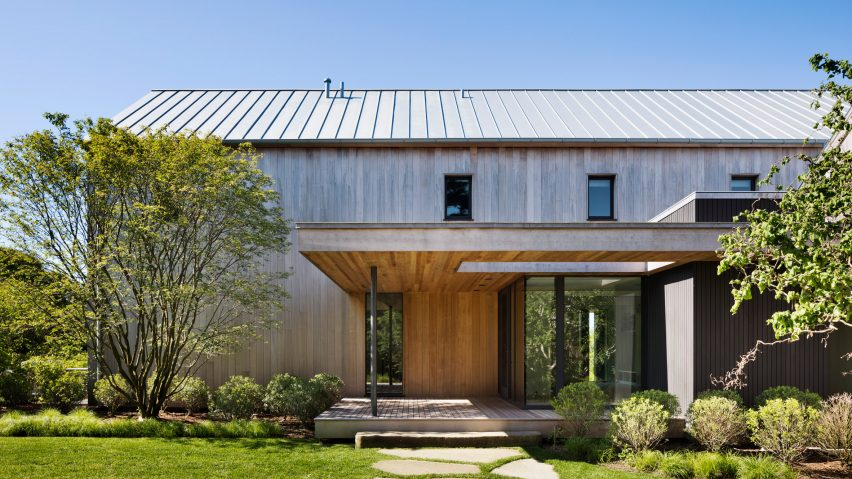 Robert Young S East Lake House In Montauk Is Designed To