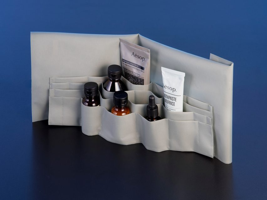 ÉCAL students create imaginative oil diffusers and washbags for Aesop
