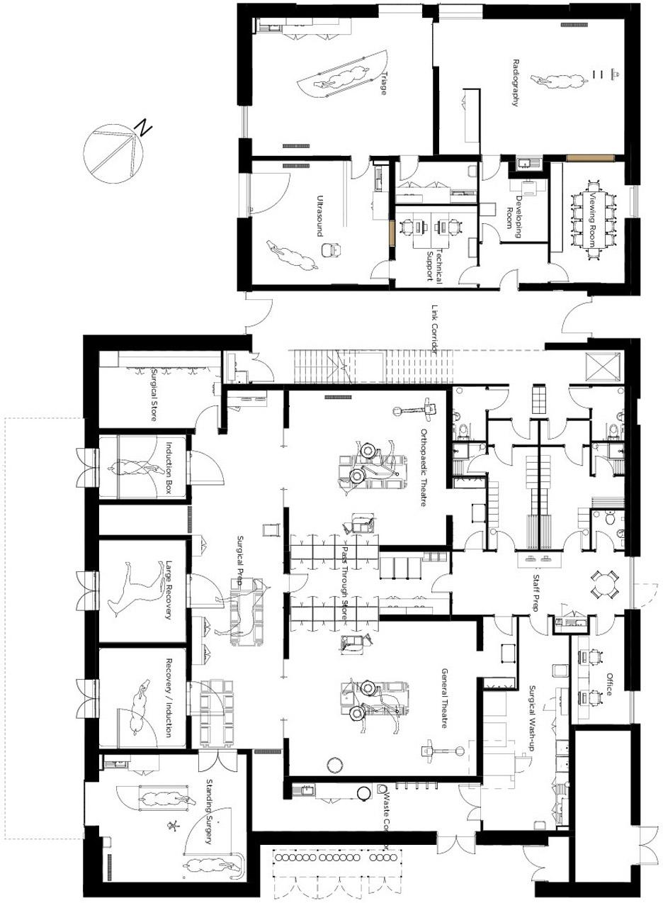 Sheppard Robson Designs Barn Style Extension For Edinburgh Horse Hospital