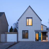 Fijal House by Mole Architects borrows details from Ely cathedral