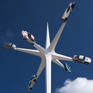 Goodwood Festival of Speed sculpture by Gerry Judah celebrates 70 years of Porsche production