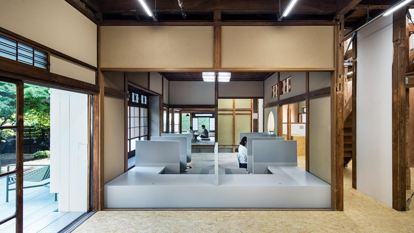 Hojo Sanci office by Jo Nagasaka/Schemata Architects
