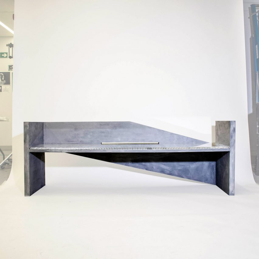 "James Hughes creates hostile architecture to show ""ugly side"" of urban design"