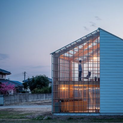 Snarku0027s House In Nakauchi Is Half Opaque Home And Half Transparent Sunroom.  Architecture ...