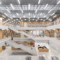 Kaan Architecten's Utopia combines music school and library