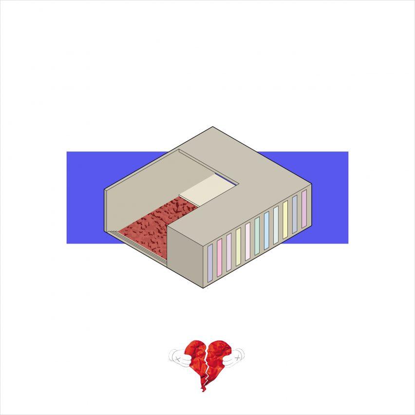 Casas inspiradas en Kanye West por Amaory B Portorreal