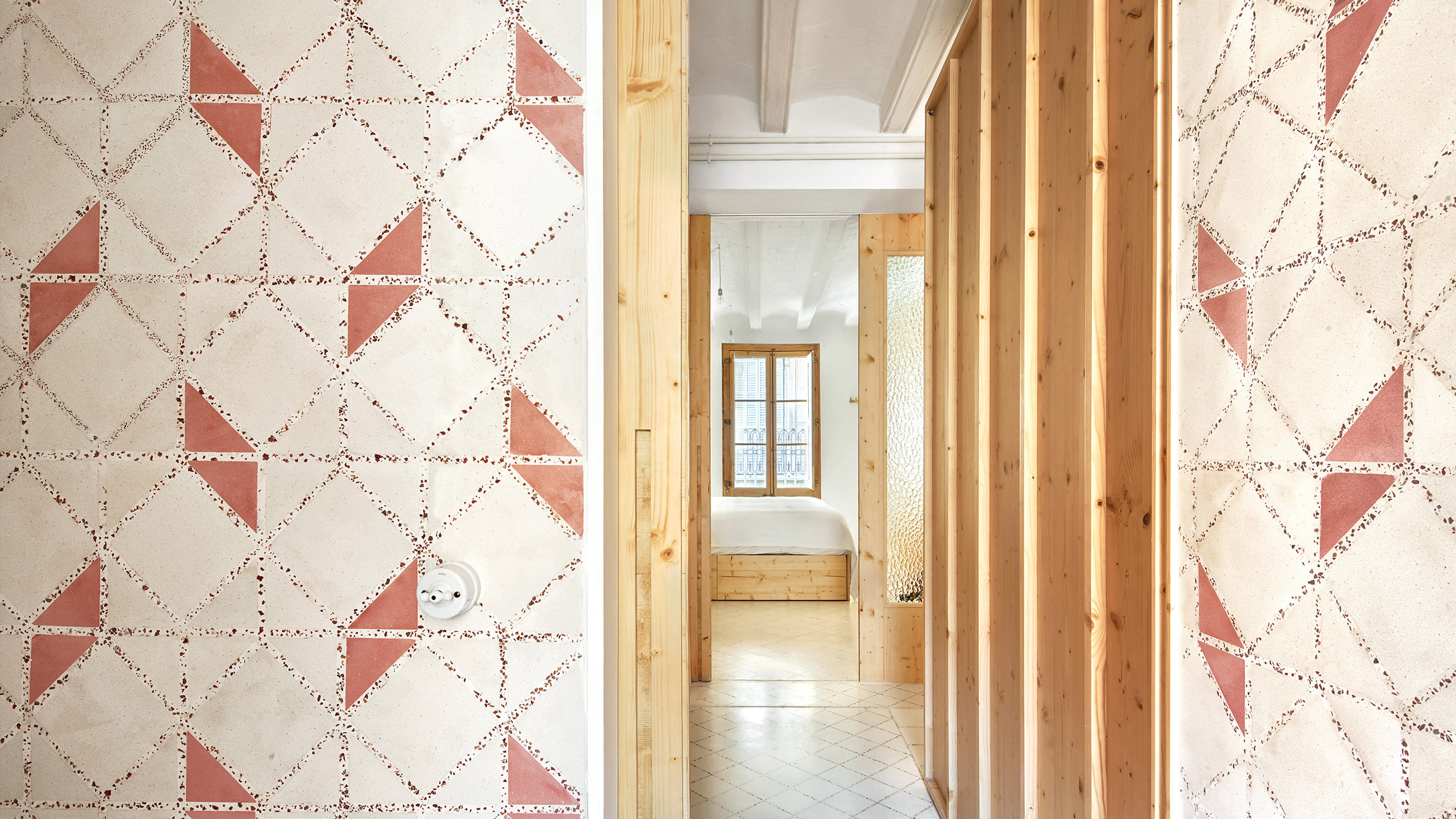 Crushed Tiles Provide Terrazzo Details In Laia And Biel S