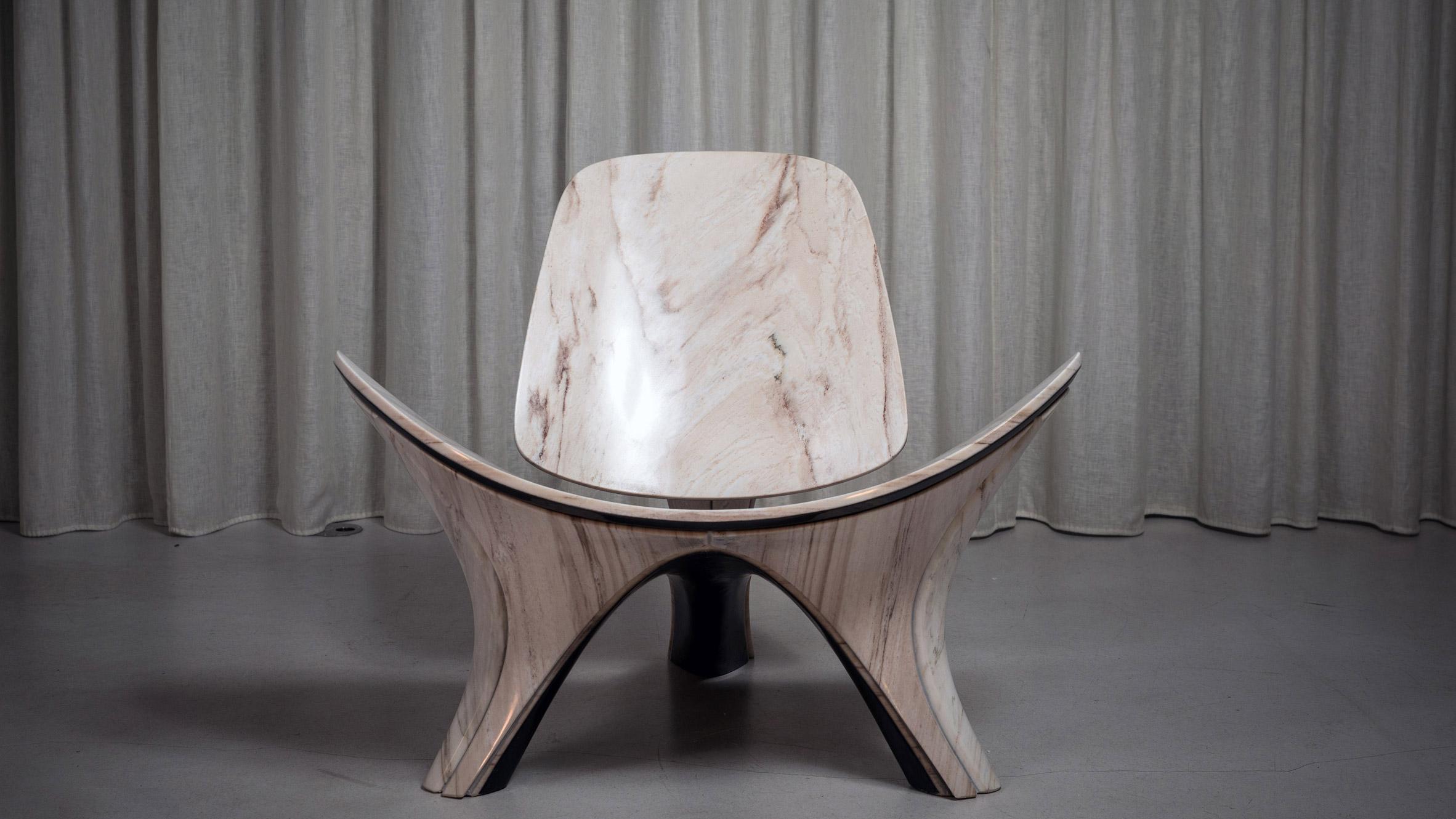Lapella chair by Zaha Hadid Architects