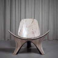 Zaha Hadid Architects reinterprets classic Hans J Wegner chair in stone