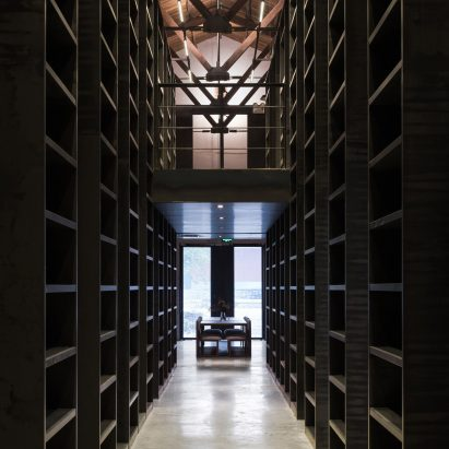 latest office designs. TAO Converts Huge Beijing Warehouse Into Moody Office And Exhibition Space Latest Designs