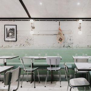 Red Deer creates pastel-toned restaurant for