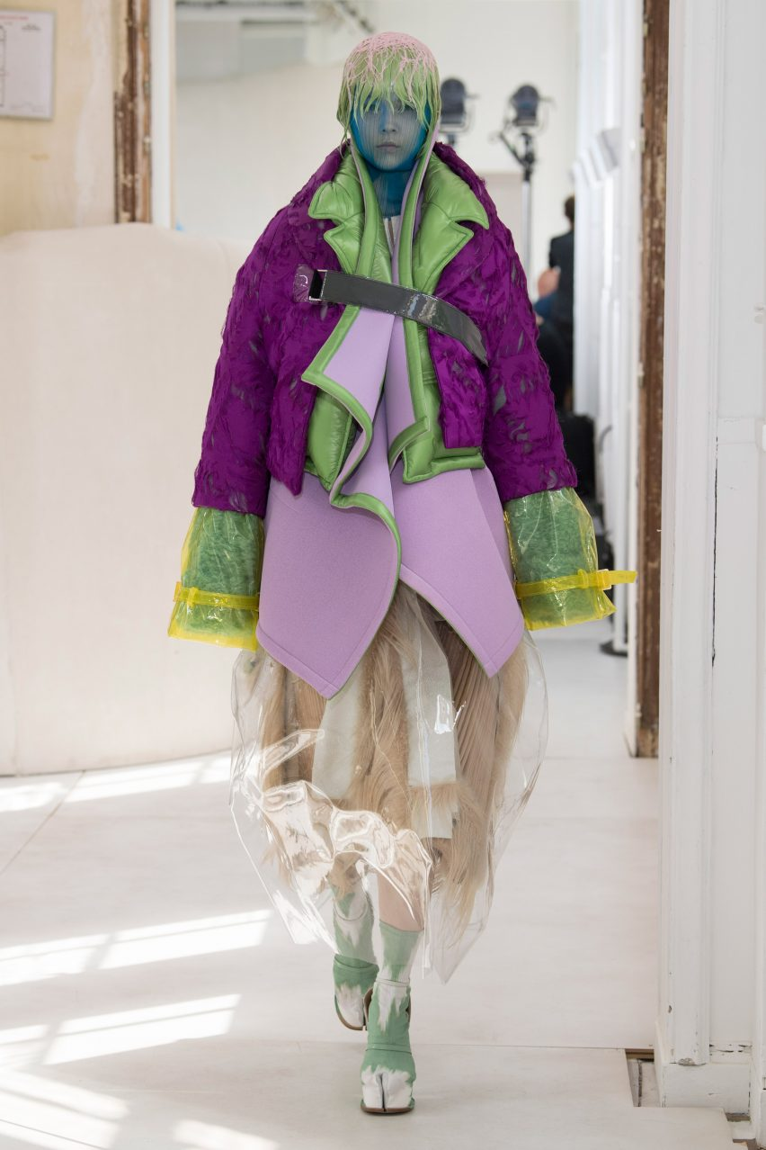 Maison Margiela's Artisanal couture collection is designed for